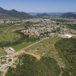 Imagem aérea de Centro da Serra ilustra post sobre motivos para morar em Centro da Serra, do blog da Morar Construtora.