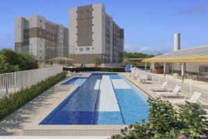 Vista de Vila Velha - Morar Construtora - Piscina