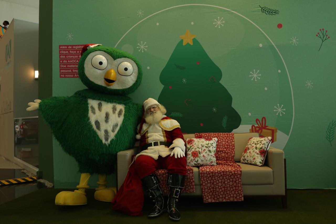 Conheça o apartamento do Papai Noel
