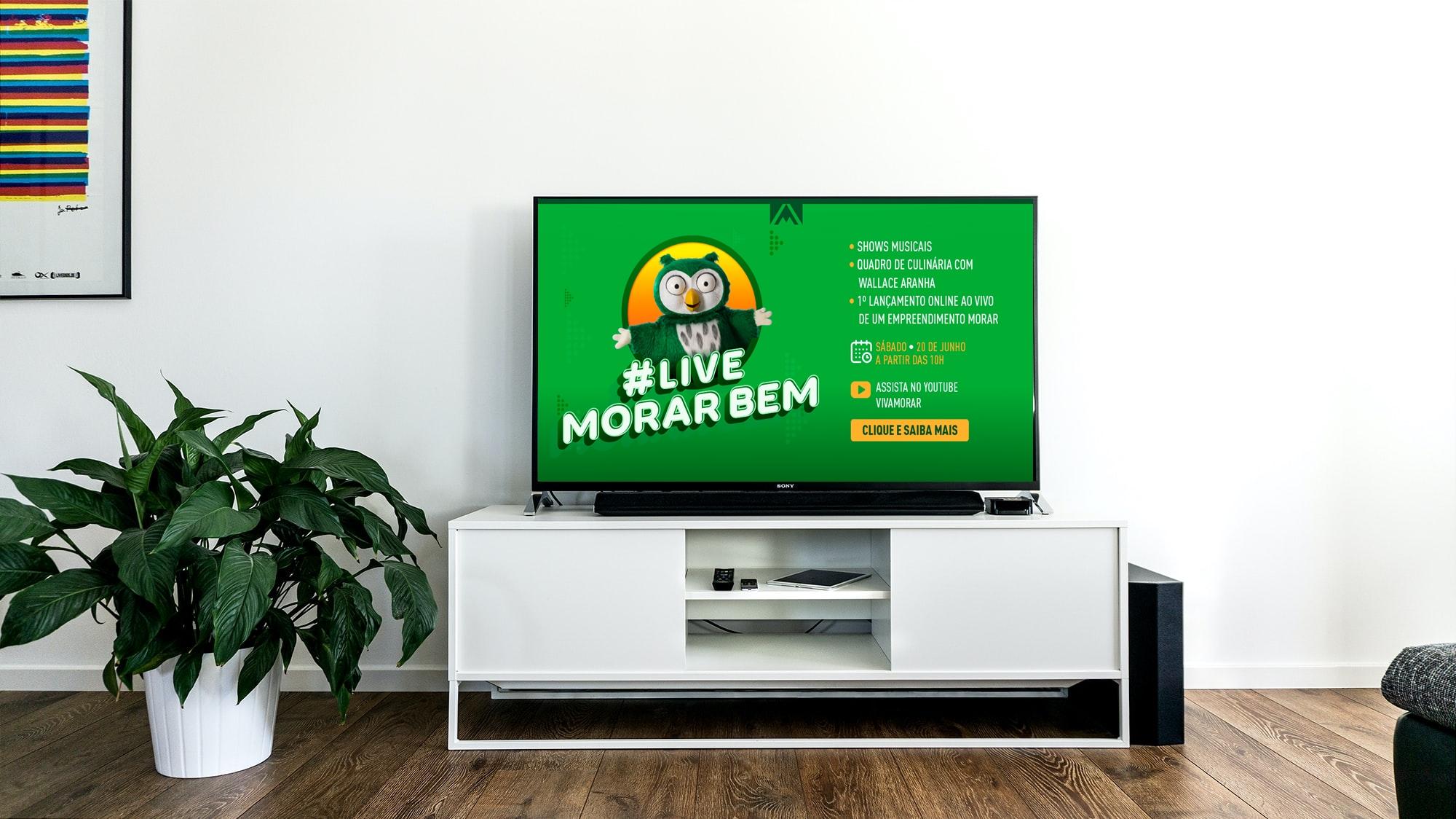 Como assistir Live Morar Bem