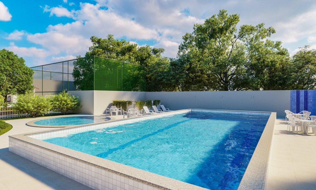 Prédico com piscina em Campos dos Goytacazes - Vista de Campos