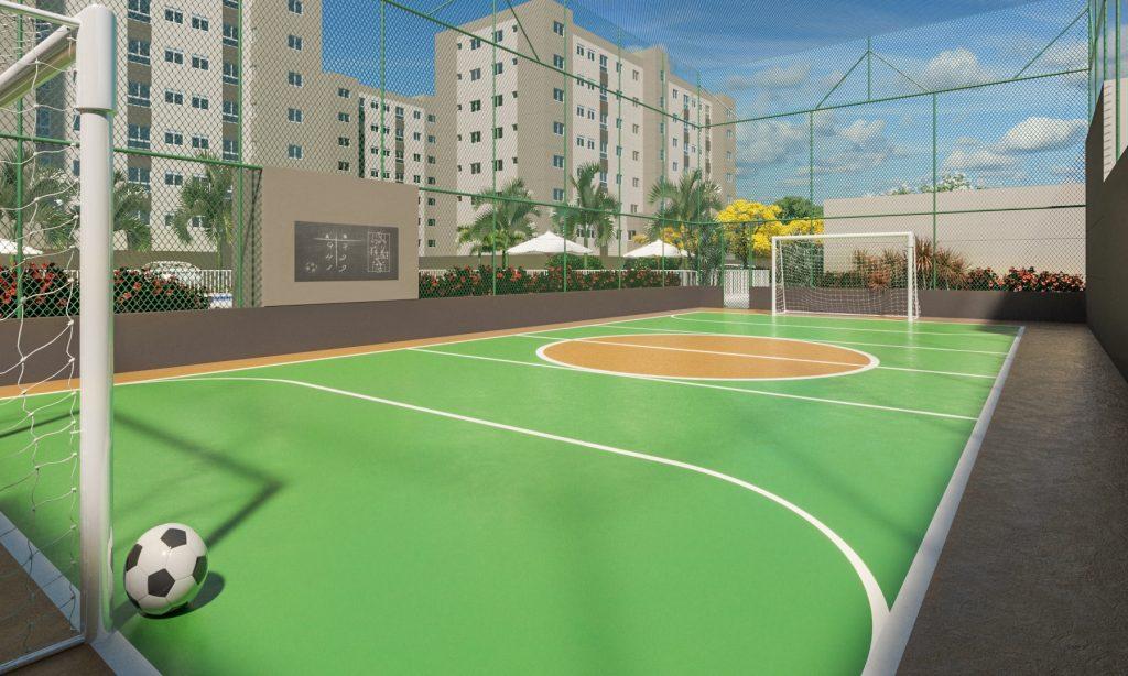Perspectiva da área de lazer do Vista do Vale, apartamento em Vila Velha da Morar Construtora