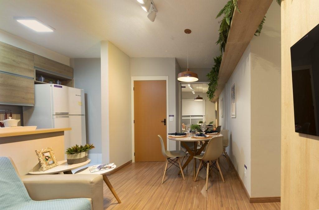 Apartamento decorado da Morar ilustra post sobre como visitar apartamento decorado faz diferença